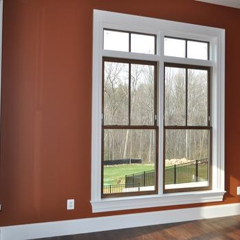 Den/library/office, Benjamin Moore Warmed Cognac