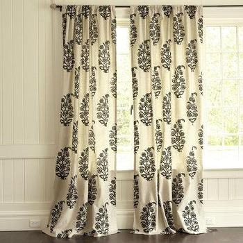 Window Treatments - Concorde Medallion Panel - drapes, panels