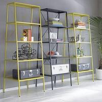 Storage Furniture - CB2 - hancock chartreuse bookcase - bookcase