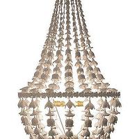 Lighting - Flower Drop Chandelier | Alice Lane Home Collection - flower drop, chandelier