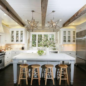 Moravian sTar Pendants, Cottage, kitchen, McCoppin Studios