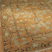 Rugs - Tree of Life Rug: 4 Colors Available - Shades of Light - persimmon, gold, tree of life, rug