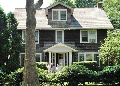 Shingle Style House Transitional Home Exterior