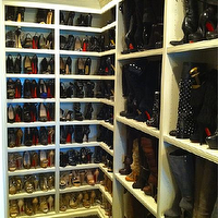 closets - Khloe Kardashian, shoe cabinet, shoe cabinets, shoe shelves, shelves for shoes, shoe storage, shoe closet, closet shoe shelves, shoe racks, closet shoe racks, khloe kardashian closet, khloe kardashian shoe closet, boot racks,