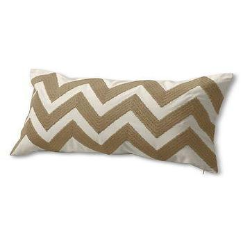 Pillows - herringbone pillow - tan, chevron, herringbone, lumbar, pillow