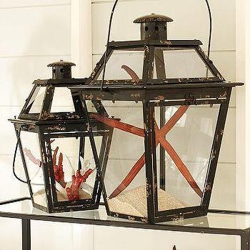 Decor/Accessories - Mercado Square Metal Lanterns | Pottery Barn - mercado, square, metal, lanterns