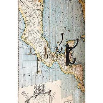 Art/Wall Decor - Map Wall Decal | Pottery Barn - wall, map, decal