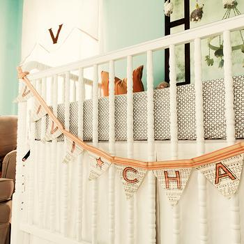 Lay Baby Lay - nurseries - jenny lind crib, white jenny lind crib, nursery garland, crib garland, nursery crib garland,  Beautifil girl's nursery