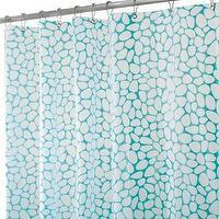 Bath - Pebblz Shower Curtain - Blue (72x72 - shower curtain