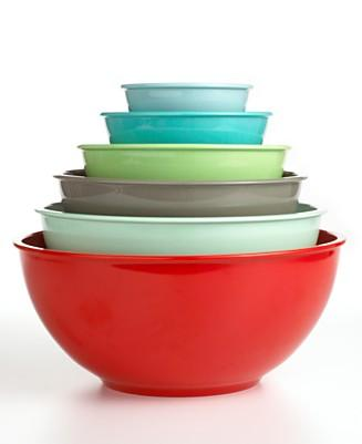 martha stewart collection 6 multi color melamine