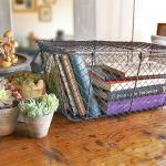 Decor/Accessories - Wire Nesting Trunks - basket, storage, wire,