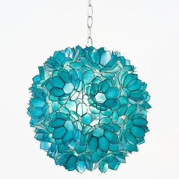 Lighting - Venus Pendant Turquoise - pendant