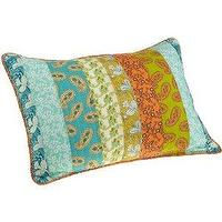 Pillows - Amazon.com: Steve Madden Sienna Standard Sham: Home & Garden - sham