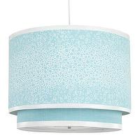 Lighting - Oilo Pendant Lighting Raindrops Aqua Cylinder Double - dome pendant