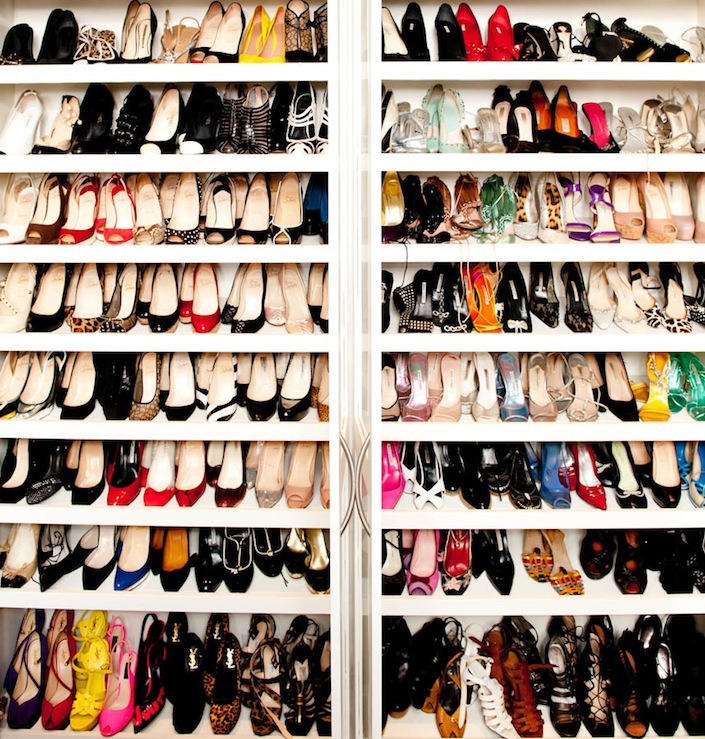 closets - white, glossy, lacquer, shoe, shelves, closet, shoe cabinet, shoe cabinets, shoe shelves, shelves for shoes, shoe storage, shoe closet, closet shoe shelves, shoe racks, closet shoe racks,