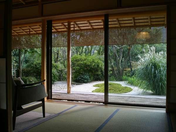 Living room for Japanese garden room