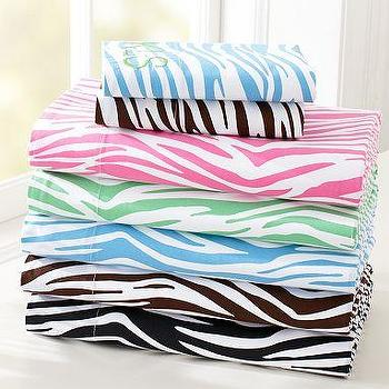 Bedding - Zebra Sheet Set | PBteen - zebra sheet
