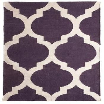 Rugs - Tile Jaipuri 2x3 :: 2 x 3 :: RUGS :: HOME :: Calypso St. Barth - purple, moorish tiles, rug