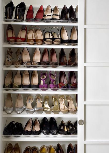 shoe cabinet contemporary closet closette. Black Bedroom Furniture Sets. Home Design Ideas