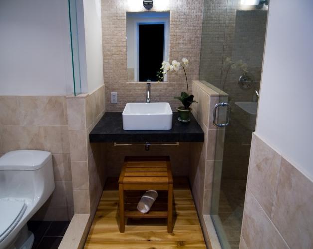 Floating Vanity - Asian - bathroom - BiglarKinyan Design