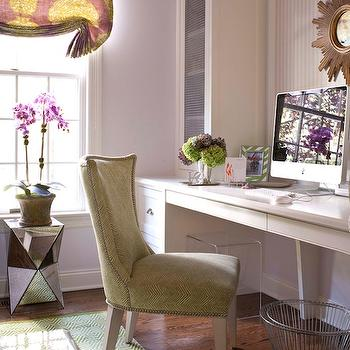 Built In Desk, Contemporary, den/library/office, Muse Interiors