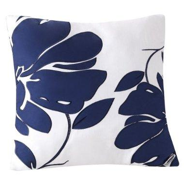 Target Decorative Pillows Blue : Decorative Toss Pillow - Blue Floral : Target