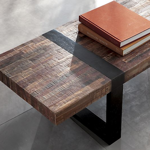 crate barrel seguro coffee table look 4 less