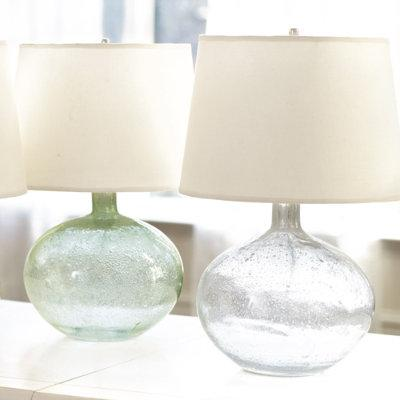 Malia Seeded Glass Lamp Ballard Designs
