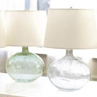 Lighting - Malia Seeded Glass Lamp - Ballard Designs - seeded, glass, lamps