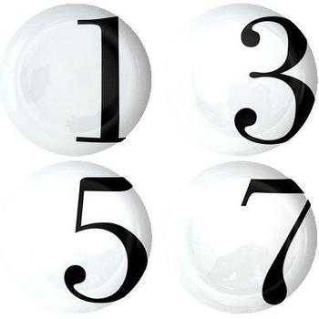 Decor/Accessories - Odd Dinner Plates - odd, number, plates