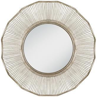 Mirrors - Sunrays Antique Silver mirror - mirror, silver,