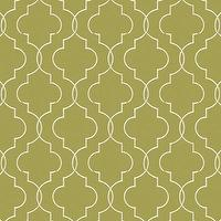 Fabrics - Adler Green Fabric By The Yard - Ballard Designs - green, moorish tiles, fabric