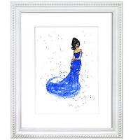 Art/Wall Decor - Prismera Design - Fashion Illustration - Cobalt - art, Prismera Design, Fashion Illustration, Cobalt