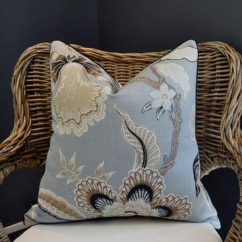 Pillows - ANNIVERSARY SALE Celerie Kemble Hot House Flowers by woodyliana - Celerie Kemble, Hot House, Flowers