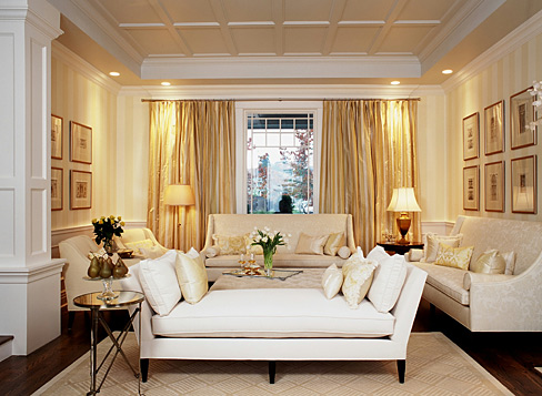 Designsmall Living Room on Design   Living Rooms   Chaise  Sofa  Curtains  Chic Living Room