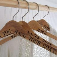 Decor/Accessories - CUSTOM maple wood hanger for wedding gown or coat by palomasnest - custom, wedding gown, hanger