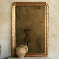 Mirrors - Eloquence Louis Philippe Gold Mirror - gold, louis, mirror