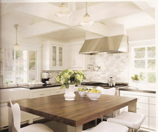 Source: Kitchens With Butcher Block Countertops And Backsplash