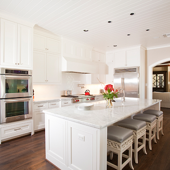 Kitchen with Beadboard Ceiling, Transitional, kitchen, Dodson and Daughter Interior Design