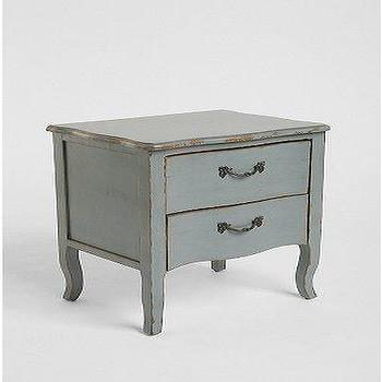 Storage Furniture - UrbanOutfitters.com > Lola Side Table - lola, blue, table, nightstand