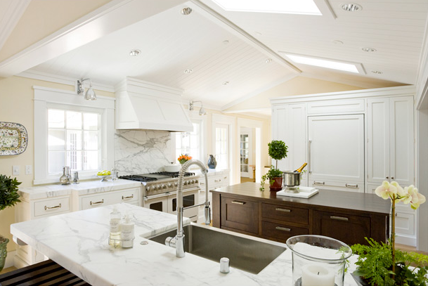 Beadboard Ceiling Kitchen