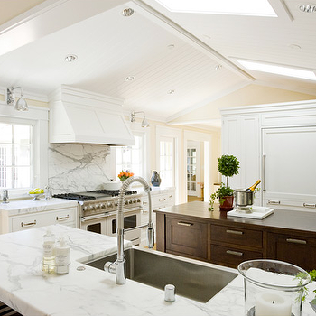 Beadboard Ceiling Kitchen, Transitional, kitchen, Ambiance Interiors