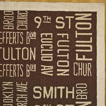Rugs - Subway Sign Rug | Pottery Barn - subway sign, rug
