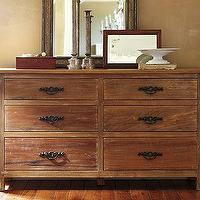 Storage Furniture - Alden Reclaimed Wood Extra-Wide Dresser | Pottery Barn - alden, reclaimed, wood, dresser