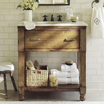 William Single Sink Console, Pottery Barn