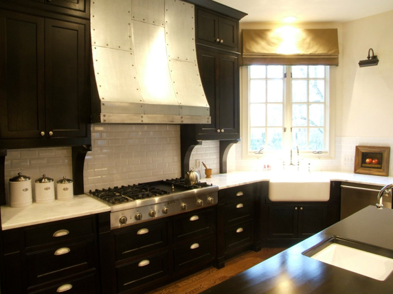 Espresso Kitchen Cabinets Contemporary Kitchen C Designs