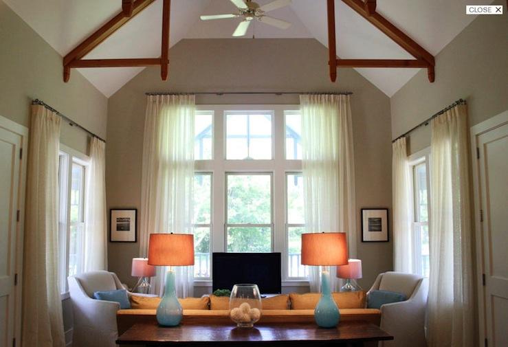 turquoise blue table lamps transitional living room. Black Bedroom Furniture Sets. Home Design Ideas