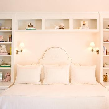 Daybed with Headboard, Transitional, girl's room, Courtney Hill Interiors