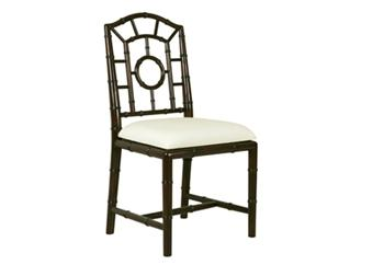 Seating - Bungalow 5, Chloe Walnut Finish Side Chair - Bungalow 5, chloe, black, chair