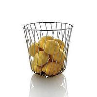 Decor/Accessories - Alessi Pauline Deltour - Alessi Pauline Deltour , metal, fruit, bowl